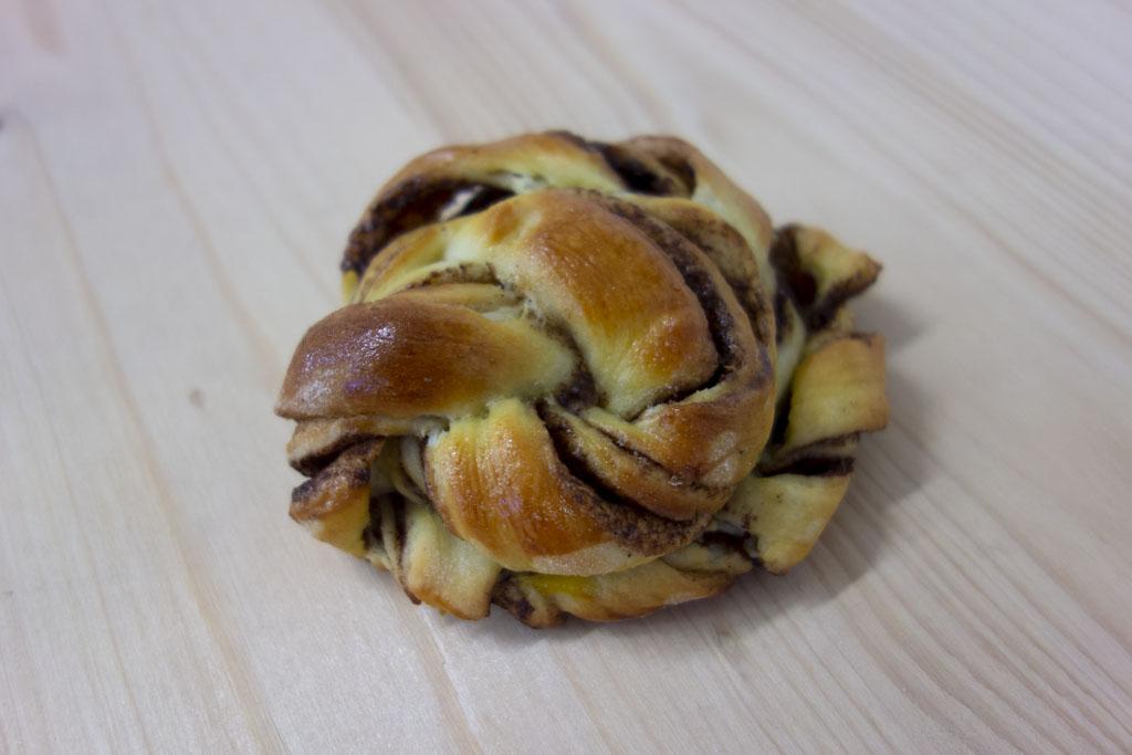 Les roulés cannelle de la boulangerie Café le pain salvator