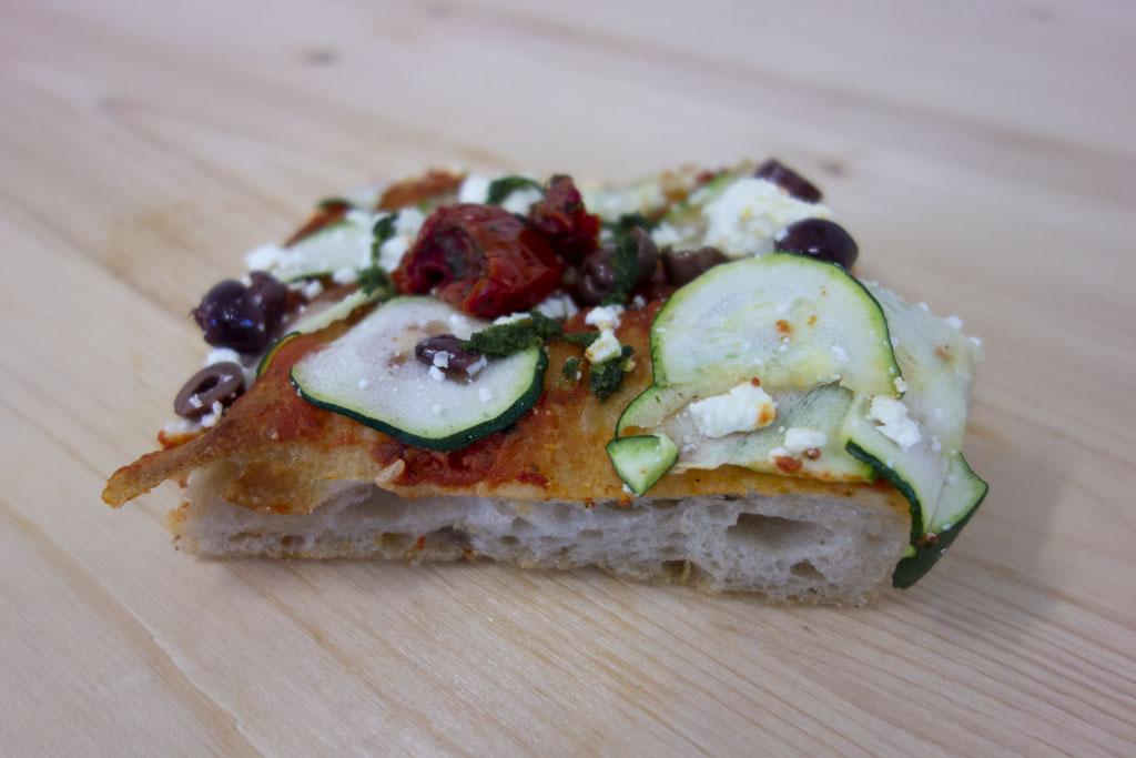 Pizza de la boulangerie café le Pain salvator