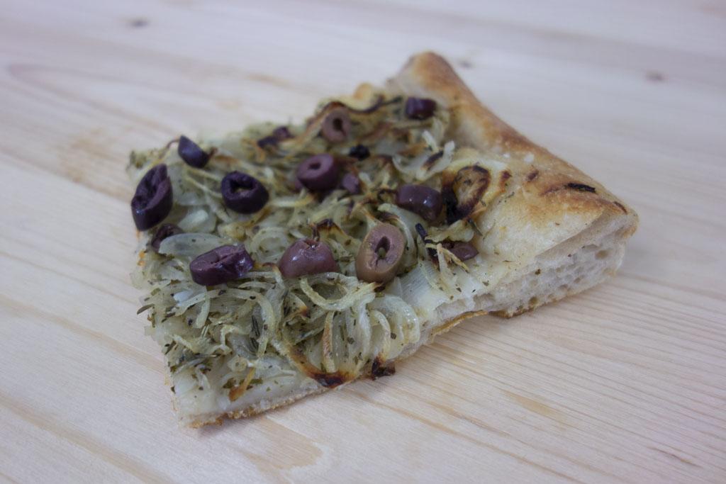 Pissaladière de la boulangerie café le Pain salvator