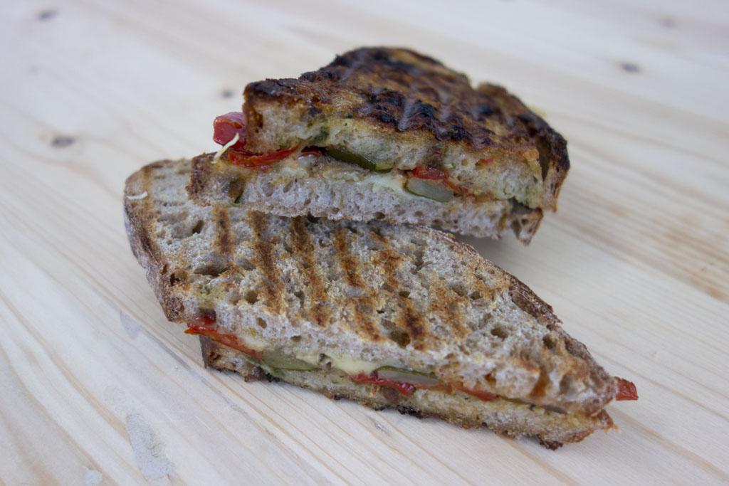 Sandwichs de saison de la boulangerie café le Pain salvator