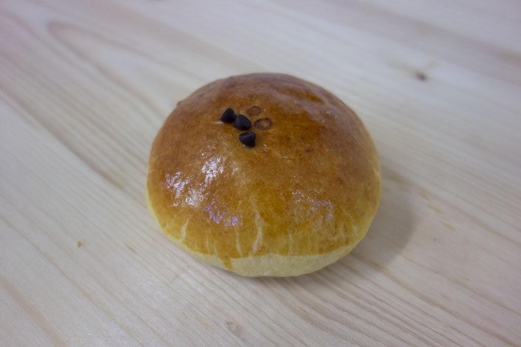 brioche au chocolat de la boulangerie café le pain salvator