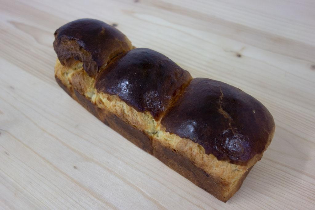 Brioche au beurre de la boulangerie café le Pain salvator